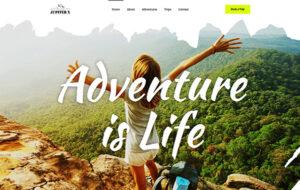 Neue Homepage Designvorschlag Adventure