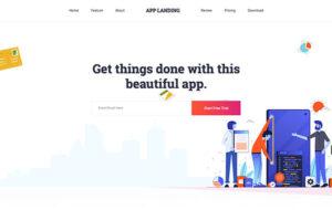 Neue Homepage Designvorschlag AppCP