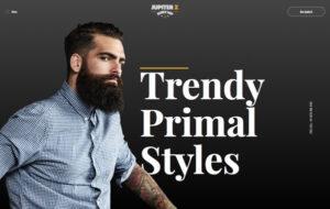 Neue Homepage Designvorschlag Barber