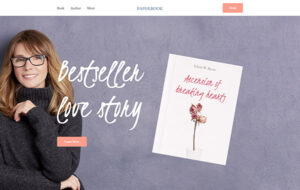 Neue Homepage Designvorschlag BookCP