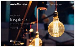 Neue Homepage Designvorschlag DecorationShop