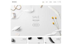 Neue Homepage Designvorschlag Dictaeus