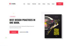 Neue Homepage Designvorschlag eBookCP