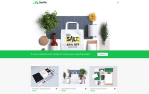 Neue Homepage Designvorschlag Hestia