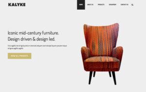 Neue Homepage Designvorschlag Kalyke
