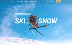 Neue Homepage Designvorschlag SkiSnow