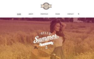 Neue Homepage Designvorschlag Adrastea